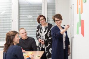 Työyhteisötaidot -koulutus saa ajattelemaan, miltä oma toiminta työpaikalla näyttää muiden silmin.